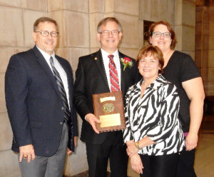 JOSEPH S. MILLER, MD, FAAFP FROM LEXINGTON, NE NAMED THE 2015 NEBRASKA FAMILY PHYSICIAN OF THE YEAR.